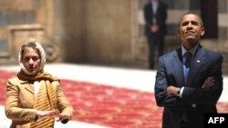 Barack Obama şi Hillary Clinton la Cairo