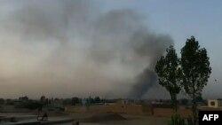 Talibani su počeli napad kasno uveče 9. avgusta sa nekoliko pozicija oko grada