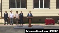 30 июня 2017 года президент принял участие в церемонии вручения ключей