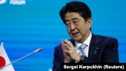 Жапониянын премьер-министри Синзо Абэ.
