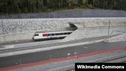 Gotthard demirýol ötügi