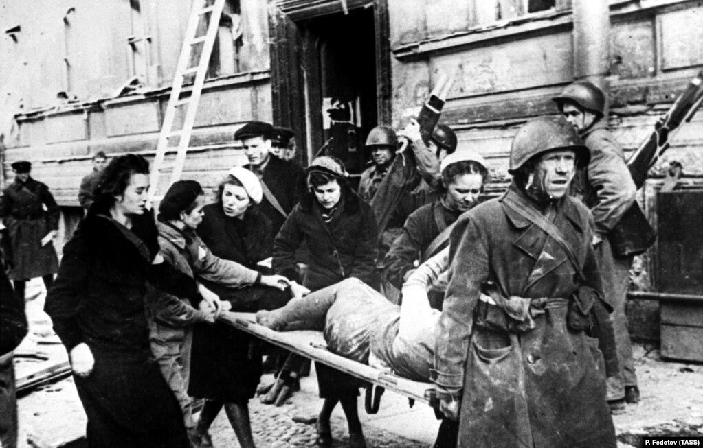 Ленинград блокадасы. 1943-жыл.