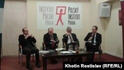Вишеградська четвірка під час семінару. Прага, 28 січня 2015 року