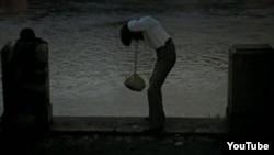 Суицид тақырыбындағы көрнекі сурет.