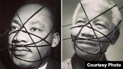 Martin Luther King we Nelson Mandela