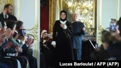 Директор модного дома Firdaws Айшат Кадырова представляет в Париже новую коллекцию одежды