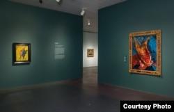 На выставке Сутина в Еврейском музее Нью-Йорка