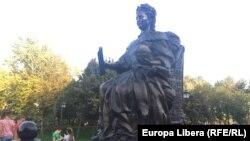 În parcul reginei Ecaterina a II-a din Tiraspol