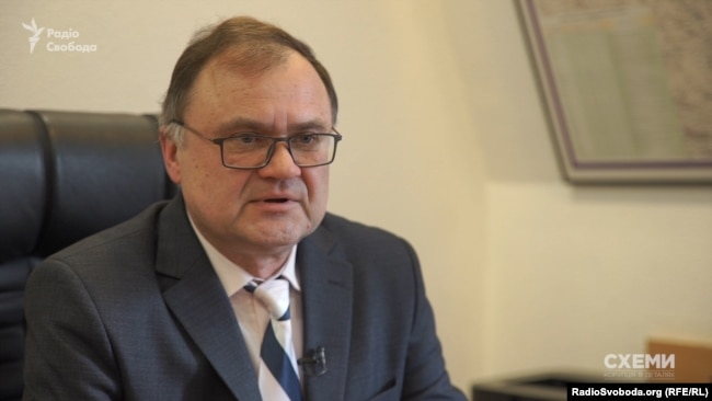Директор департаменту Держаудитслужби Володимир Діхтярьов