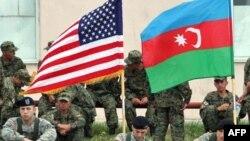 Azərbaycan və ABŞ hərbçiləri Vaziani təlim bazasında, 15 iyul 2008