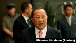 Ministri i Jashtëm verikorean, Ri Yong-ho, foto nga arkivi