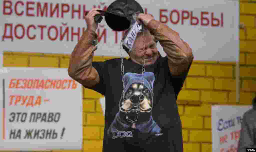 Bjelorusija - Savez sindikata - Predstavnici bjeroruskog Kongresa Demokratrskog Saveza Sindikata obilježavaju 50-u godišnjicu.