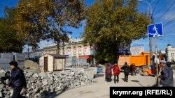 Симферополь: одна улица, две реконструкции