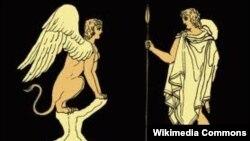 Sfinks və Edipin görüşü