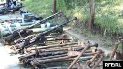 Pronađeno oružje, Fotografije uz tekst: Blagoja Kuzmanovski