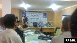 اجتماع لمكتب مفوضية الانتخابات في دهوك مع ممثلي قوائم انتخابية