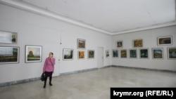 В Доме художника, принадлежащем Союзу художников Крыма, открылась выставка акварелиста Ивана Копаенко