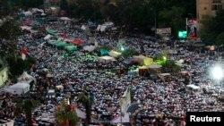 Демонстрация сторонников Мохамеда Мурси