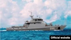 Военный корабль в Каспийском море. Иллюстративное фото.