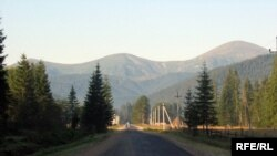 Дорога на Говерлу