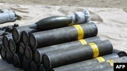 نمونه خمپاره های ضد زره که گفته می شود توسط ایران در اختیار شورشیان عراقی قرار می گیرد.
