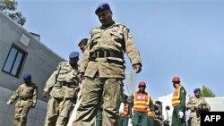 یک پاسگاه نیروهای نظامی پاکستان در شهر راولپندی