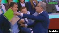 Андрей Норкин выгоняет Сергея Запорожского из студии