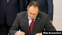 Колишній голова Державного агентства з інвестицій та управління національними проектами (Держінвестпроект) Владислав Каськів