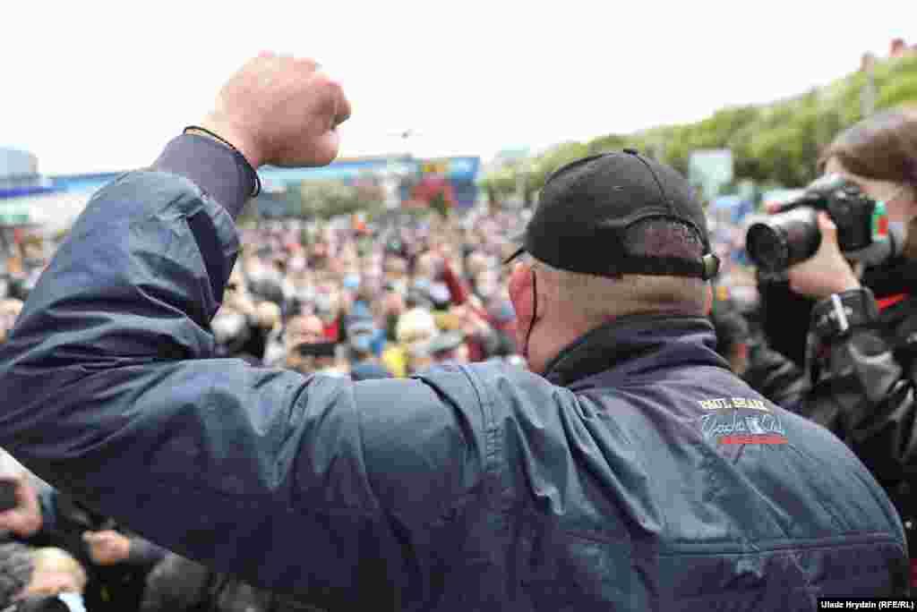Тихановский говорит о поддержке кандидатов в президенты от оппозиции на выборах в августе