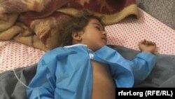 آرشیف/ یک طفل شفاخانۀ حوزوی هرات