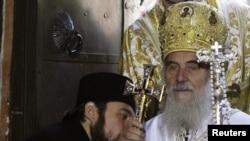 Patriarch Irinej succeeds Pavle, who died last year