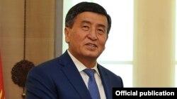 Сооронбай Жээнбеков, Қырғызстан премьер-министрі.