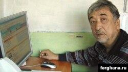 Uzbekistan -- Surat Ikramov, a Tashkent human rights activist, undated