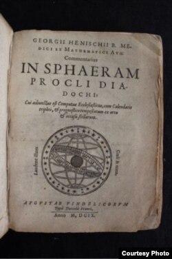 Computus Ecclesiasticus. Аўгсбург, 1609.
