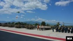 Празднование Дня ВВС Македонии. 9 июня 2017 года.