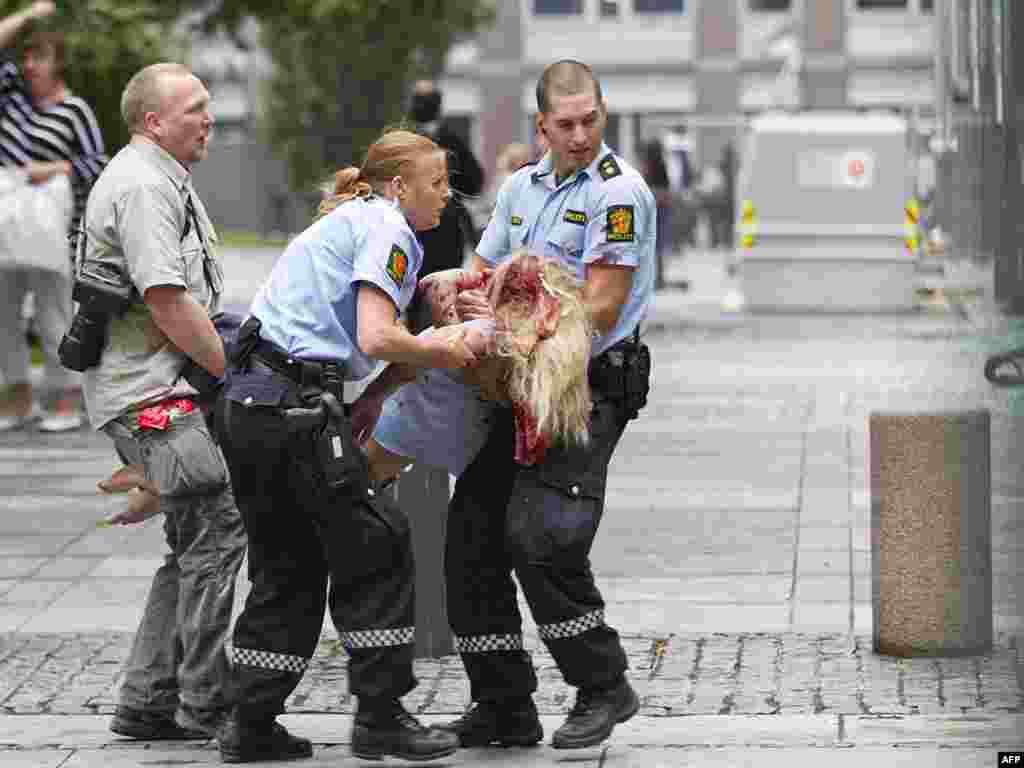 В Осло у здания правительства Норвегии прогремел взрыв.