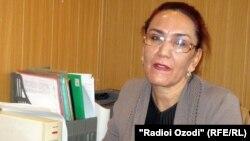Известный в Таджикистане адвокат Файзинисо Вохидова.
