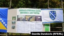 Četrnaesta godišnjica utkrivanja masovna grobnice Tihotina
