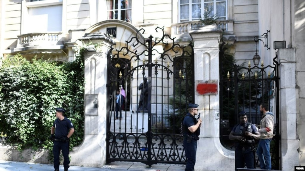 Image result for iran embassy in paris attack