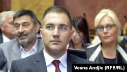Kreu i Kuvendit të Serbisë, Nebojsha Stefanoviq.