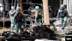هنوز هیچ گروهی مسئولیت این انفجارها را بر عهده نگرفته است.