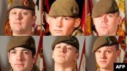 Ushtarët e vrarë në Afganistan