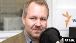 Vladislav Inozemțev la redacția din Moscova Radio Libertatea