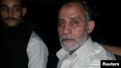Лідер руху «Мусульманське братство» Мухаммад Баді (п)