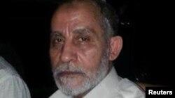 Müsəlman Qardaşlığı təşkilatının lideri Mohamed Badie.
