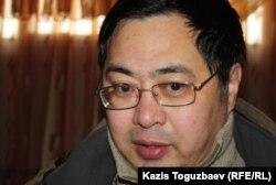 Ермек Нарымбаев, гражданский активист. Алматы, 15 декабря 2012 года.