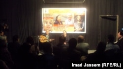 المطربة شوقية العطار والموسيقي حميد البصري في أمسية ببغداد