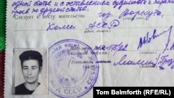 Анна Крикунның лагерьден босағаны жайлы 1956 жылғы құжат. Воркута, 7 ақпан 2013.