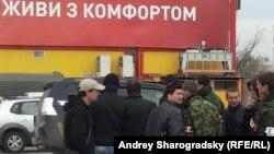 Одна из групп, участвовавших в захвате штаба ВМС Украины