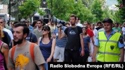 Од демонстрациите против полициската бруталност